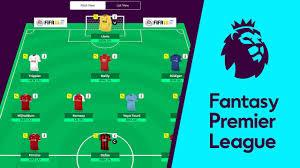 Fantasy Premier League exemple d'équipe