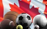 drapeau canada ballons illustrations paris sportifs