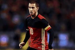 eden hazard joueur football belge