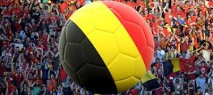 ballon couleurs belgique supporters